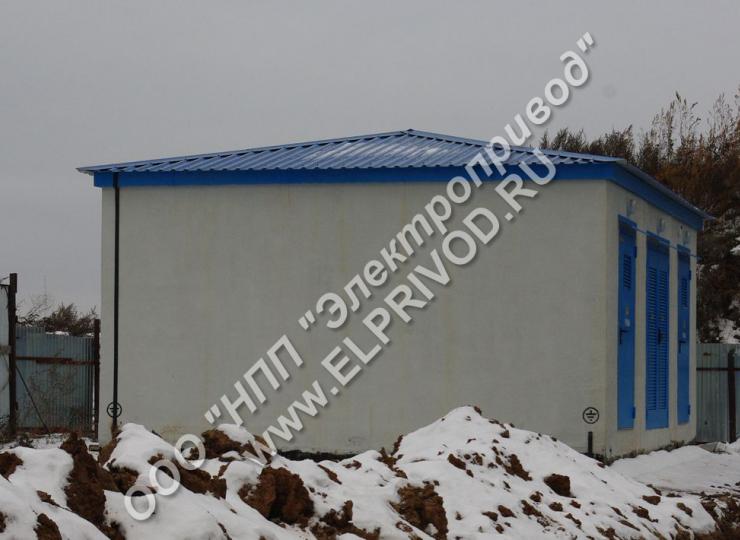 Производство бетонных модулей КТП