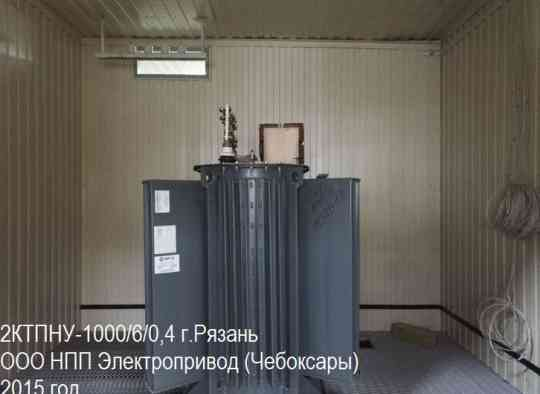 Трансформатор ТМГ-630/10/0,4