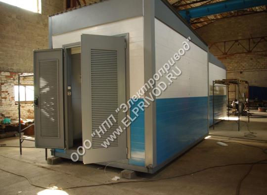 Блочно-модульное здание для подстанций